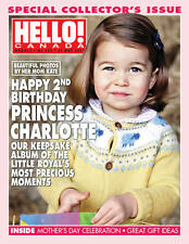 Hello Canada Magazine Princess Charlotte 2nd Birthday May.2017 #553 Brand New