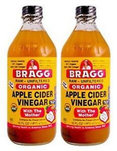 2-x-Bragg-Organic-Apple-Cider-Vinegar-473ml-with-The-Mother-Raw-amp-Unfiltered