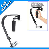 Black Professional Video Camera Stabilizer System For Compact Digital Camcorders