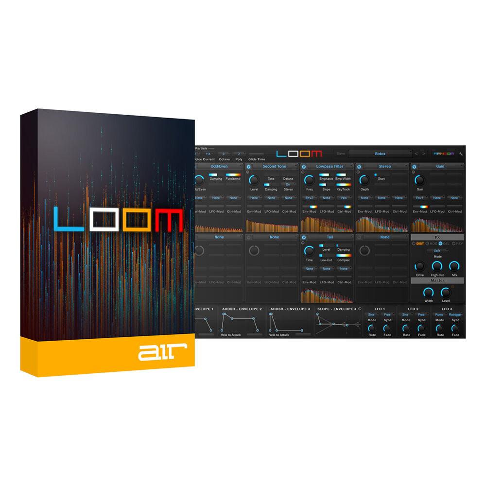 AIR Music Technology Loom Modular Additive SyntheGrößer Software (Download)