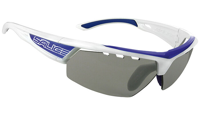 SALICE 005 CRXB white bluee  frame smoke photochromatic lens sunglasses NEW  fast shipping and best service