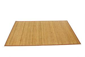 DANA - Tappeto in Bamboo colore legno | eBay
