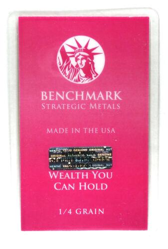 1//60th gram gold pure 24k 3mm X 6mm fractional gold 999 FINE bullion bar C30c