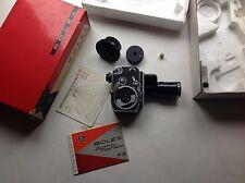 Vintage Paillard Bolex P2 Zoom Reflex Movie Camera w/ Som Berthoit Lens & Box