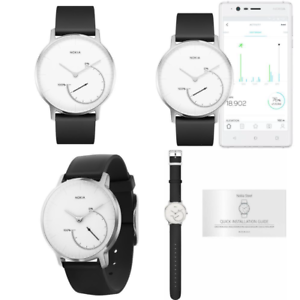 Nokia Steel – Activity & Sleep Watch, White