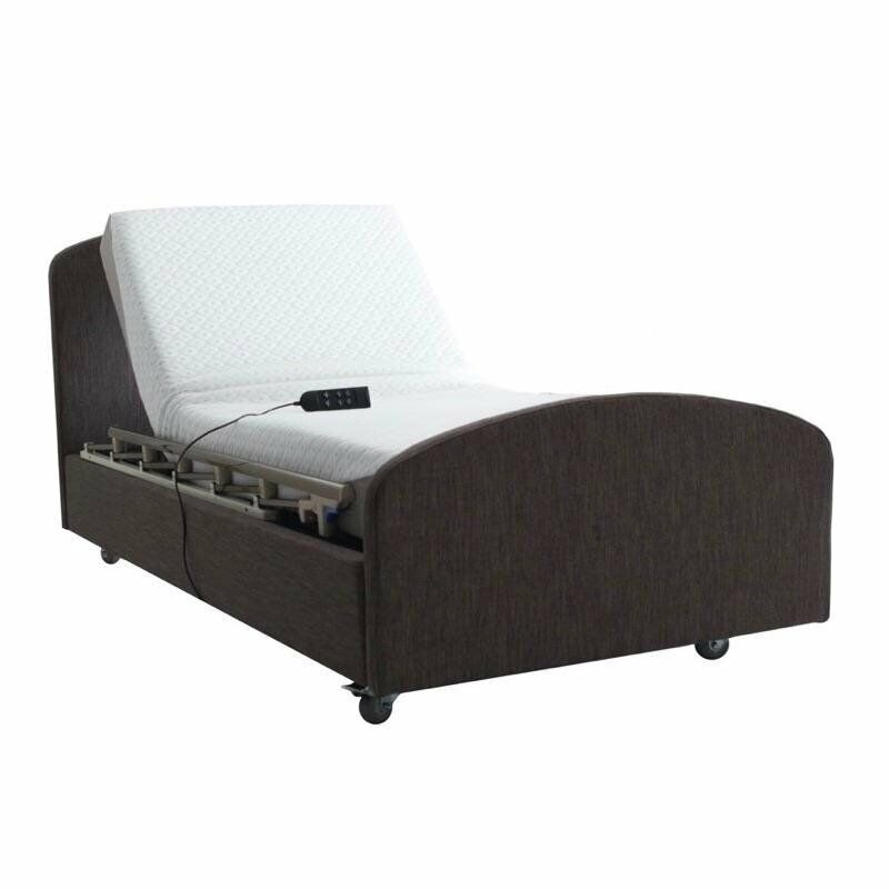 Electric Adjustable Bed - HiLow Flex - LAUNCH SPECIAL. Height Adjustable with Integrated Side Rails.