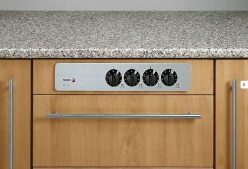 Fagor PE-45I Edelstahl Ersatzblende mit Schalter für nicht autarke Kochfeler