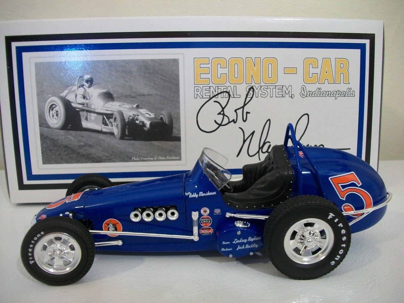 GMP Bobby Marshman Econo-Car Rental System Dirt Champ Race Car W Original Box