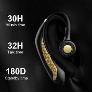 Ear-Hook-Bluetooth-5-0-Wireless-Headphone-Headset-Earphones-Hands-free-Universal