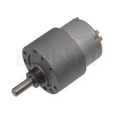 Dc Gear Motor High Torque 37gb 12v 60rpm 500t For Diy Robotics Arduino