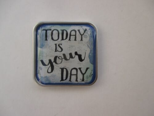 T Today is your day JUST BELIEVE Pocket token charm special person birthday