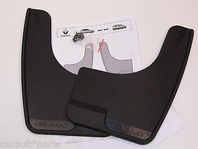 Genuine Renault Megane III Coupe Cabriolet Set Of Front Or Rear Mud Flaps//guards