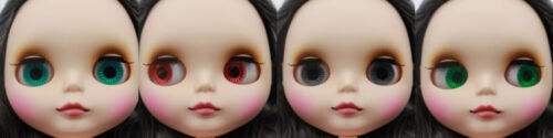"""Takara 12/"""" Neo Blythe  Grey Hair Matte Face Nude Doll from Factory TBY128"""