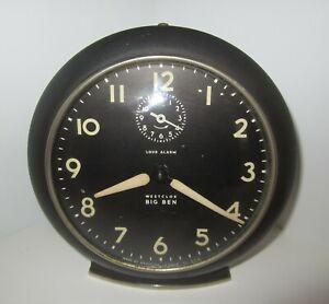 Antique-Westclox-Big-Ben-Loud-Alarm-Clock-Metal