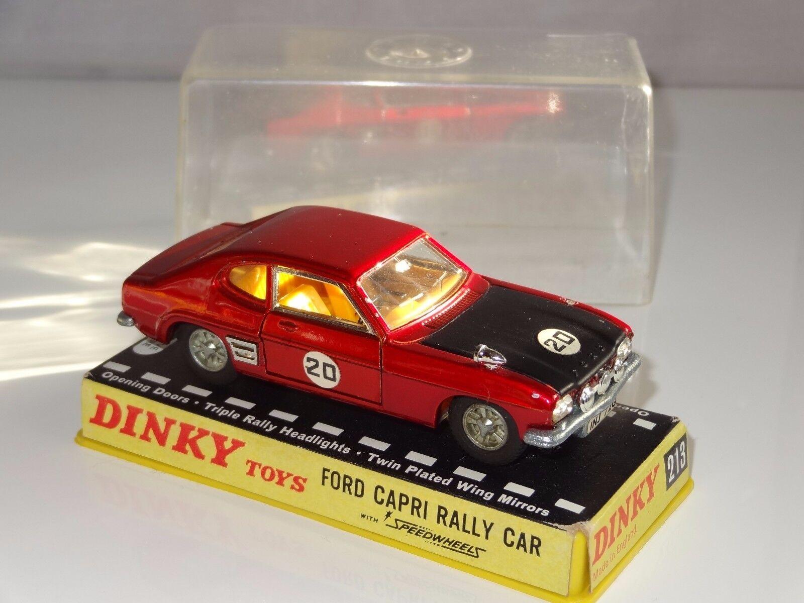 DINKY FORD CAPRI auto da rally - 213