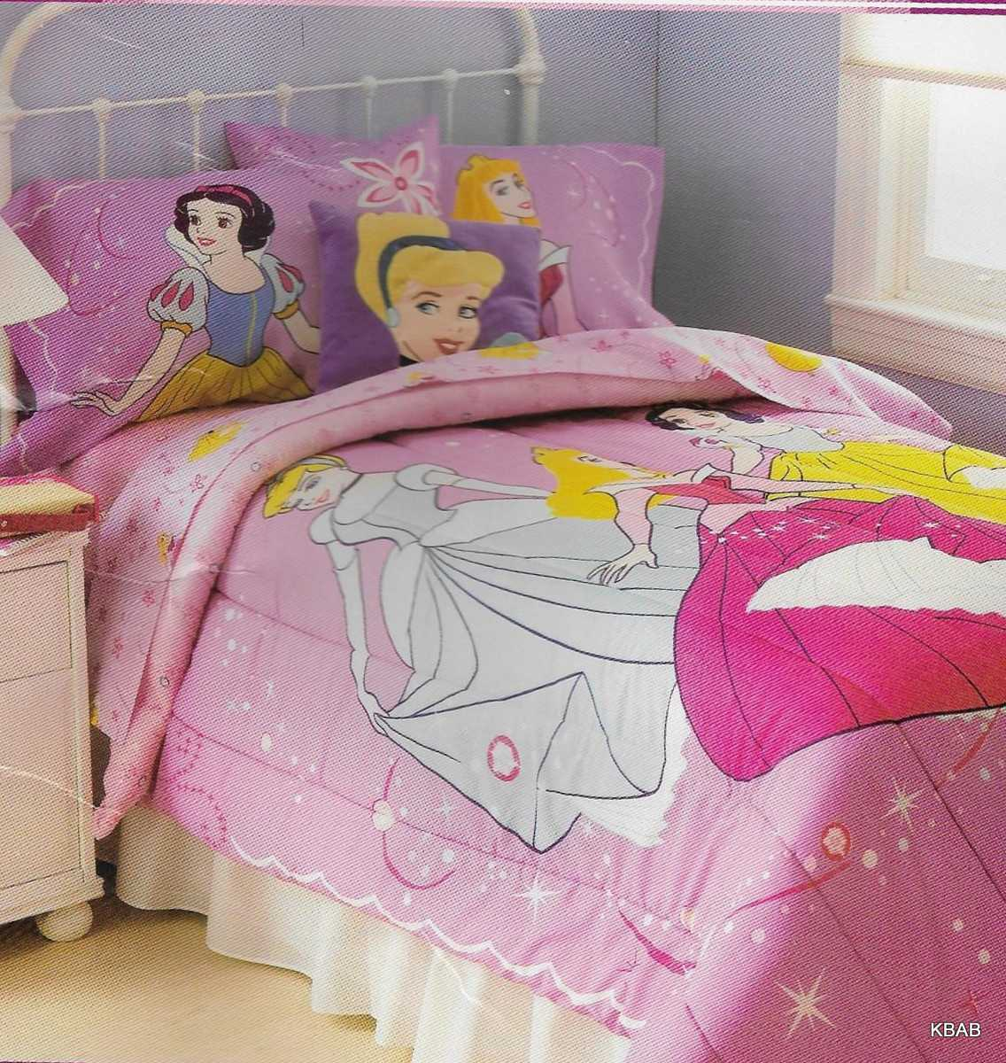 Duvets Brand New Official Disney Princess Aurora 4 Pieces Twin Bed Comforter Set Home Furniture Diy Lugecook Com Br