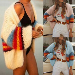 Women-Knitted-Long-Sleeve-Cardigan-Casual-Loose-Outwear-Sweater-Jacket-Coat-Tops