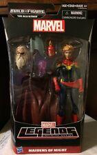 Marvel Legends Infinite Series! Captain Marvel Figure! Allfather Build A Figure!