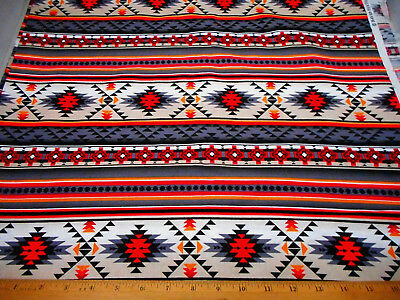 1//2 Yard Tribal Old Southwest Adobe Patchworks Scenic Sewing Quilting Fabric