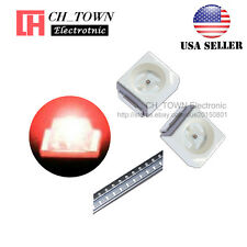 100PCS 1210 (3528) Red Light PLCC-2 SMD SMT LED Diodes Emitting Ultra Bright USA