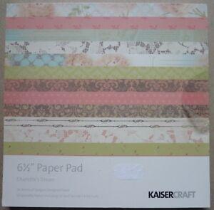 Kaisercraft Paper Pad 65034 x 6 12034 Charlotte039s Dream 40 sheets - Newton Abbot, United Kingdom - Kaisercraft Paper Pad 65034 x 6 12034 Charlotte039s Dream 40 sheets - Newton Abbot, United Kingdom