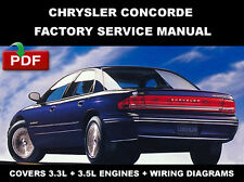 CHRYSLER CONCORDE 1993 1994 1995 1996 1997 SERVICE REPAIR WORKSHOP MANUAL