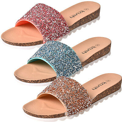 Acquista A Buon Mercato Donna Celebrity Style Slider Muli Glitter Slip-on Sandali-mostra Il Titolo Originale