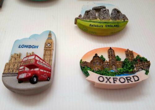 3D Art Resin Travel Decorative Fridge Refrigerator Magnet Souvenir England