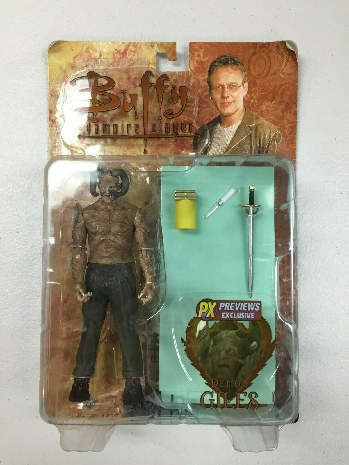 Demon Giles - Buffy the Vampire  Slayer 2006 - Diamond Select - Sealed on autod  sconto online