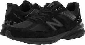 New-Balance-Men-039-s-990v5-Made-in-The-USA-Sneaker-Black-Black-Size-9-0-47y4