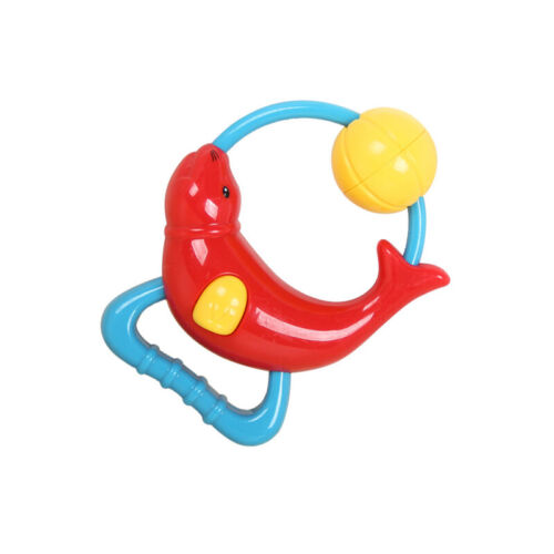 Baby Developing Toy Educational Intelligence Rattle Kid Hand Rattle Ring Bell LC