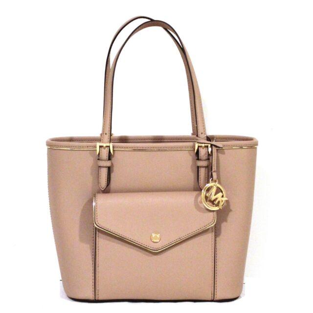 32940f993cac93 ... handbags purses wallets dillard s 145ac 8d83e; closeout michael kors  saffiano frame tote fawn pink purse leather neutral gold nwt 228 17d94 84997