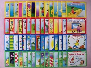 Lot-60-Childrens-Books-Kindergarten-First-Grade-Phonics-Levels-Levels-ABCD