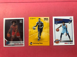 Nba-Rookie-Card-Lot-3-Zion-williamson-Ja-Morant-And-Coby-White
