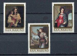 S27623) Dealer Stock San Marino 1980 MNH New Christmas 3v (X10 Sets)