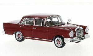 MB Mercedes Benz 220 SE (W111) - 1959 - darkred - IXO 1:43