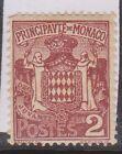 (OI-104) 1924 Monaco 2c brown (B)