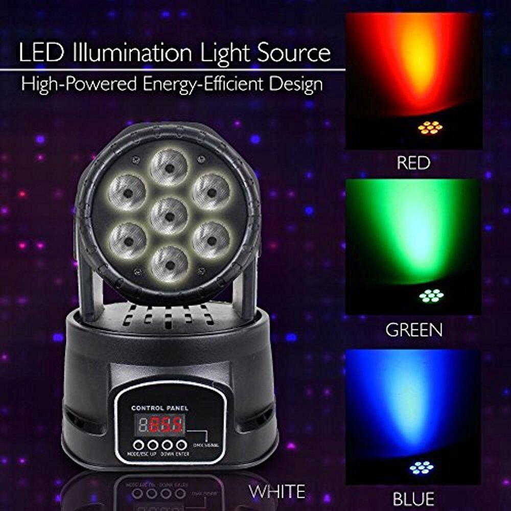 Multi-Color Multi-Color Multi-Color de LED Luz para Escenario-Sonido Dj & sistema de iluminación de estudio PDJLT 50 9c881a