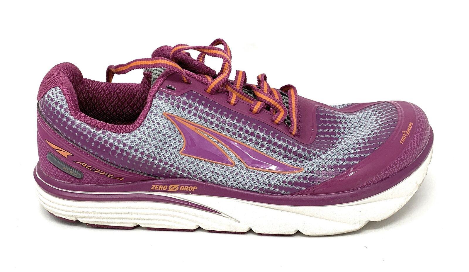 Altra Women's Torin 3 Running shoes, Purple orange, 8.5 B US Used
