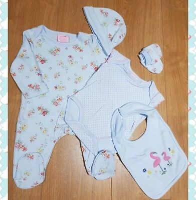 CUTE NEW BEBE BONITO 3 PC BABY BOYS GIRLS TROUSER TOP BIB OUTFIT NB 0//3 3//6 MTHS