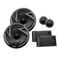 Power Acoustik Ef-60c 250 Watts 6.5 2-way Car Component Speaker System 6-1/2