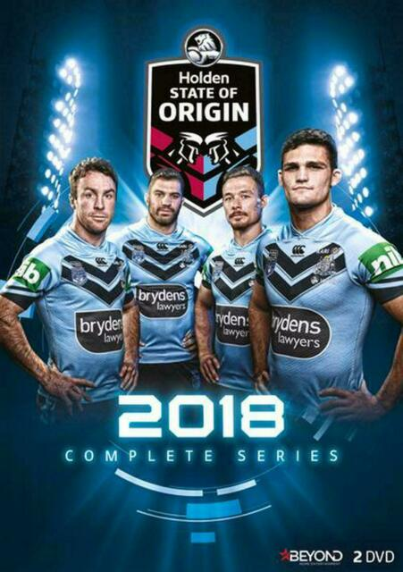 State Of Origin 2018 (DVD, 2018, 2-Disc Set) - Region 4