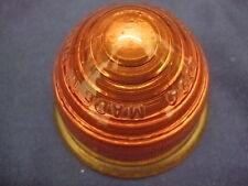 Lucas L594 amber lens - Morris Minor etc.