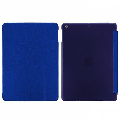 Borsa Custodia Book Case Smart Per Apple Ipad Air Blu