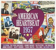 American Heartbeat 1957 2-CD NEW SEALED Chuck Berry/Buddy Holly/Fats Domino+