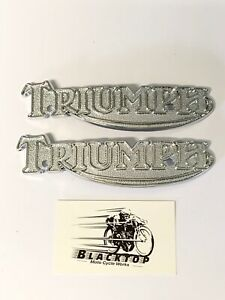 Triumph-Tank-badges-Pair-1978-on-T140-83-5361-60-7210-Express-Post