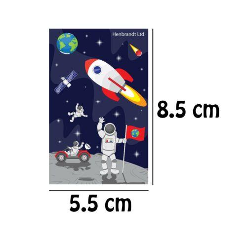 1//6//12//24//36 Kids 5 Piece Stationery Set Party Bag Filler Ruler Notepad Space