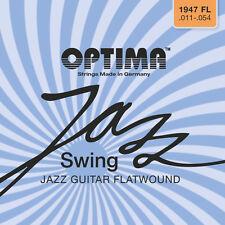 Optima/Maxima Chrome Strings 11-54 Flatwound 1947 FL  Jazz