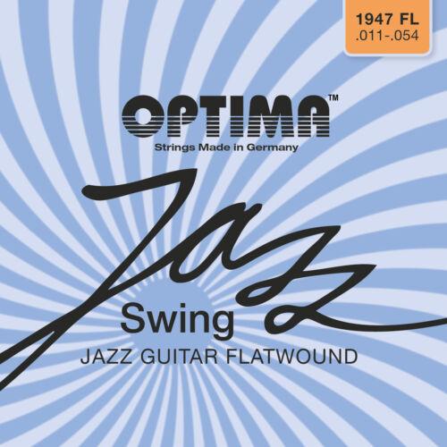 Optima//Maxima Chrome Strings 11-54 Flatwound 1947 FL  Jazz