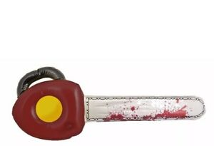 Inflatable Texas Chainsaw Large Scary Halloween Decoration Fancy Dress 71cm